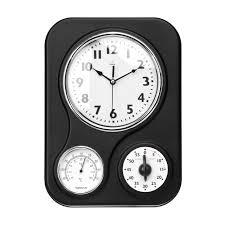 scandinavian wall clock blackenamelclock jpg