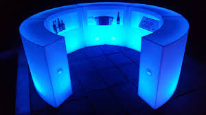 illuminated led furniture hire for events in london u0026 uk