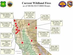 Cal Map Here U0027s A Map Of All The Northern California Fires Jefferson