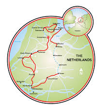 Holland Michigan Map by Best Of Holland Bike And Barge Tour Netherlands Tripsite