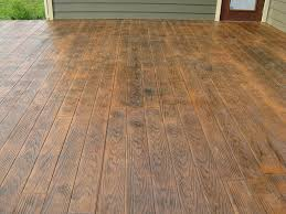 Stamped Patio Designs by Patio Idea More Faux Wood Stamped Concrete Home Design Exterior