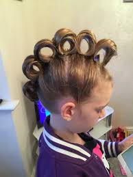 rolling hair styles rolling mohawk for crazy hair day hair pinterest crazy hair