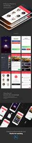 car rent mobile app free psd freebie supply