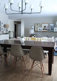 making a dining room table molded plastic chairs for every style and budget and in our
