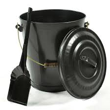 black fireplace ash container and shovel set northline express