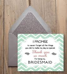 what to say in a wedding thank you card best 25 bridesmaid thank you cards ideas on