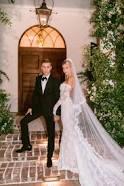 Image of Hailey Baldwin wedding