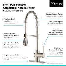 Kitchen Faucet Commercial Kitchen Faucet Kraususa
