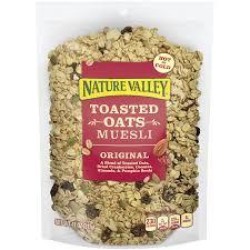 amazon com nature valley muesli cereal original 11 oz box