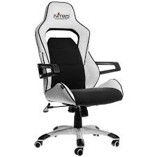 e220 evo gaming chair u2013 white black nitro concepts