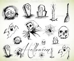 drawings of halloween u2013 festival collections