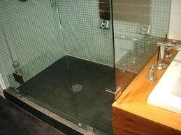 Bathroom Shower Floors Concrete Shower Floor Mortar Shower Pan Complete Concrete Shower