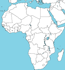 Map Of Africa Political by Blank Map Of Africa By Abldegaulle45 On Deviantart