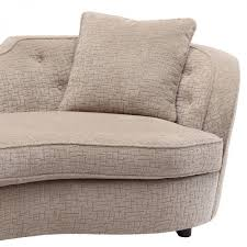 living palisade transitional sofa in sand fabric with brown legs