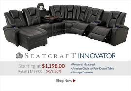 home theater sleeper sofa amazing home theatre sectional sofa centerfieldbar throughout