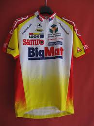 bureau de change auber cycling t shirt bigmat auber 93 giordana 1999 vintage cycles look