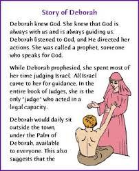 60 best deborah the judge images on bible stories