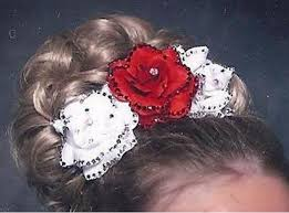 hairstyles for an irish dancing feis feis fayre usa rose hair accessory