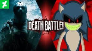 Sonic Exe Know Your Meme - death battle jason voorhees vs sonic exe prelude by cobaltglacier