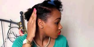 Updo Hairstyles For Short Hair Easy by Quick Easy Hairstyles For Short Natural Hair Youtube