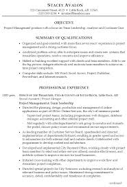 Skills Samples For Resume by Resume For Project Management Susan Ireland Resumes