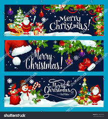 merry best wish greeting banners stock vector 742291093