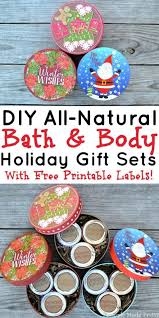 Bath And Body Gift Sets 3 Easy Diy All Natural Bath And Body Gift Sets Simple Made Pretty
