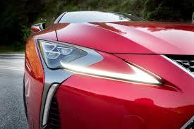 lexus lc 500 tail lights 2018 lexus lc 500 our review cars com