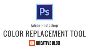 photoshop how to use the colour replacement tool youtube