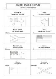 english worksheets the countries worksheets page 104