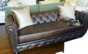 Fabric Chesterfield Sofa Bed by Sofa U Love Custom Made In Usa Furniture Leather Leather