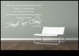 chambre bob marley bob marley quote wall sticker bedroom room decal mural transfer