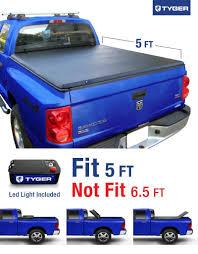 2005 Dodge Dakota Truck Cap - amazon com tyger auto tg bc3d1013 tri fold truck bed tonneau