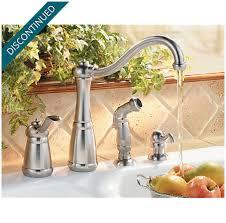 price pfister marielle kitchen faucet stainless steel marielle 1 handle kitchen faucet 026 4nss