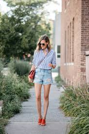 how to wear jean shorts in fall shirts pinterest shorts