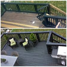 painted deck rails house design and planning