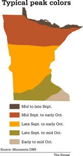 minnesota blown fall colors inforum