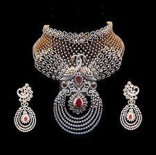 diamond jewelry necklace images Diamond necklace diamond necklace under 1 50 lakhs leight jpg