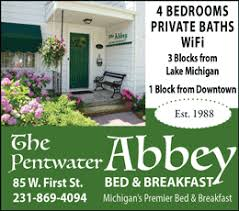 Michigan Bed And Breakfast Visit Pentwater Bed And Breakfasts Pentwater Mi Michigan