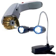 led bbq grill lights led bbq grill light and motorized grill brush 6760780 hsn