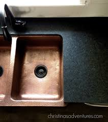 Kitchen Sink Black Granite by Leathered Granite Counter Tops Christinas Adventures