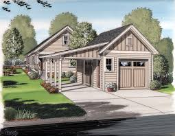 Detached Covered Patio by Apartments Detached Garage Plans With Porch Cottage House Plans