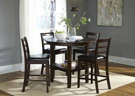 casual dining room sets liberty furniture bradshaw casual dining 5 piece round pub table