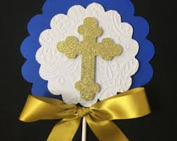 Precious Moments Centerpieces by Baptism Centerpieces Etsy