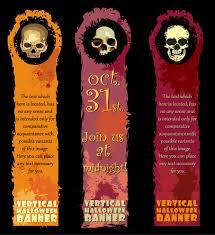 halloween banner element vector free vector 4vector