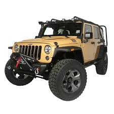 lowered 4 door jeep wrangler rugged ridge exploration 4 package 2013 15 jeep wrangler jk