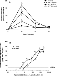 characterization of neuropeptide y induced feeding in mice do y1