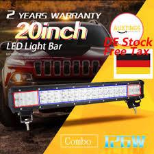 Atv Light Bar New 20 Inch 126w Led Light Bar Combo Offroad Driving Lamp 4wd Work