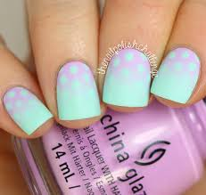 inspired gradient polka dot nail art the nail polish challenge