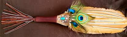 peacock feather fan feather medicine the peacock feather fan the oracle of sachamama